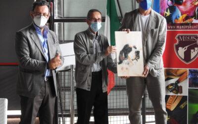 17 luglio 2021 Lazise (VR) consegna del Premio UNCZA al miglior giovane del Trofeo Saladini Pilastri 2019 e 2020″